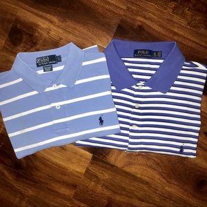 Bundle 2 - Polo by Ralph Lauren golf polo shirts L